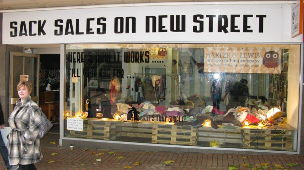 sack sales on new street