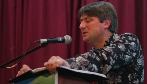 Simon Armitage reading